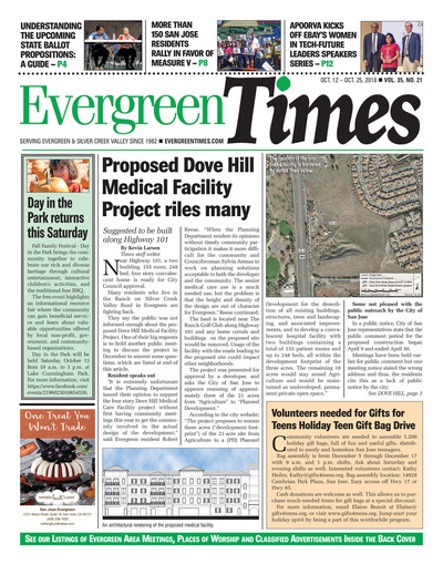 Evergreen Times - Oct 12, 2018