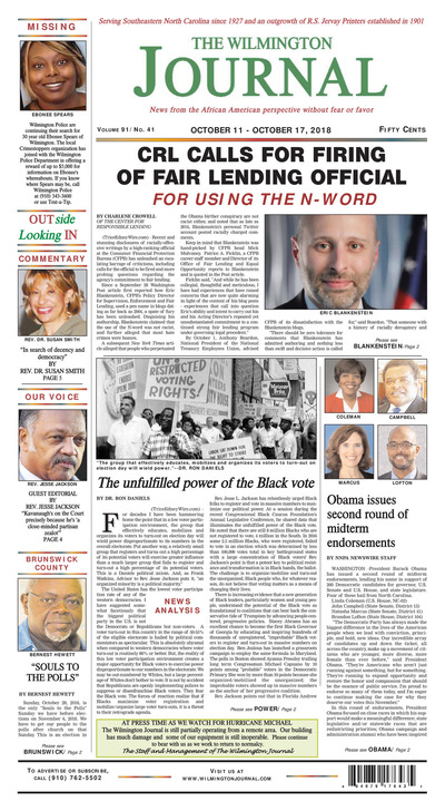Wilmington Journal - Oct 11, 2018