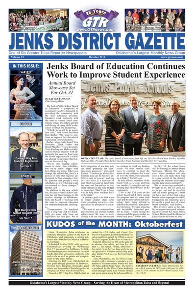 Jenks District Gazette - October 2018