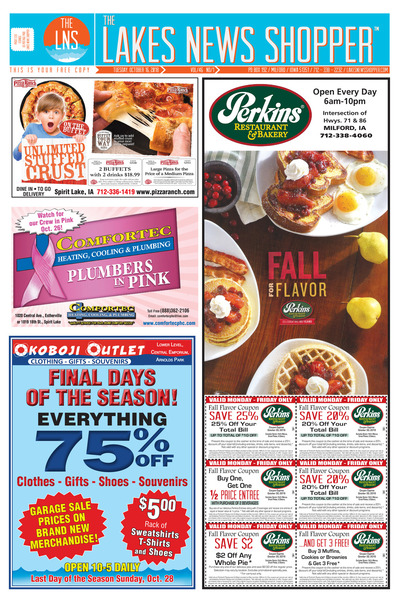 Lakes News Shopper - Oct 16, 2018