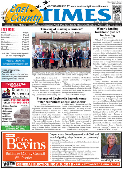 East County Times - Oct 18, 2018