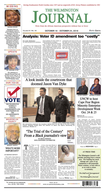 Wilmington Journal - Oct 18, 2018