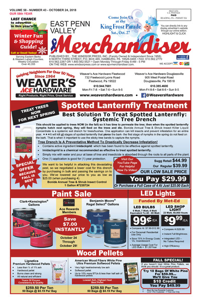 East Penn Valley Merchandiser - Oct 24, 2018