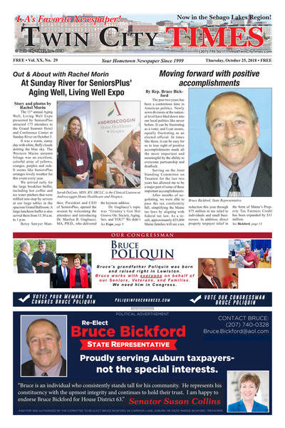 Twin City Times - Oct 25, 2018