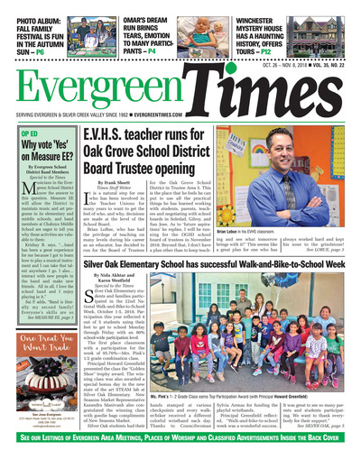 Evergreen Times - Oct 26, 2018
