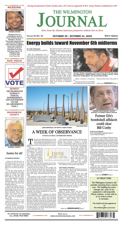 Wilmington Journal - Oct 25, 2018