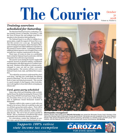 Delmarva Courier - Oct 31, 2018
