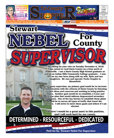Tri-County Shopper - Oct 31, 2018