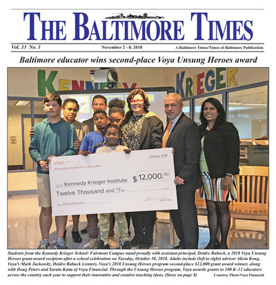 Baltimore Times - Nov 2, 2018