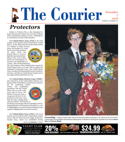 Delmarva Courier - Nov 7, 2018