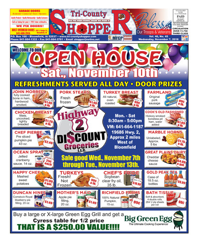 Tri-County Shopper - Nov 7, 2018