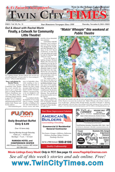 Twin City Times - Nov 8, 2018