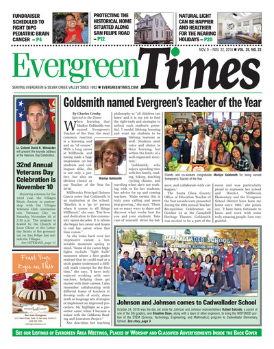 Evergreen Times - Nov 9, 2018