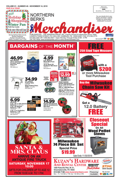 Northern Berks Merchandiser - Nov 14, 2018