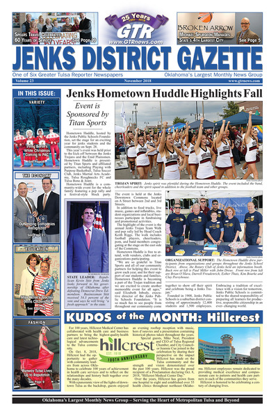 Jenks District Gazette - November 2018