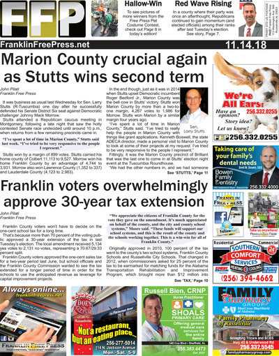 Franklin Free Press - Nov 14, 2018