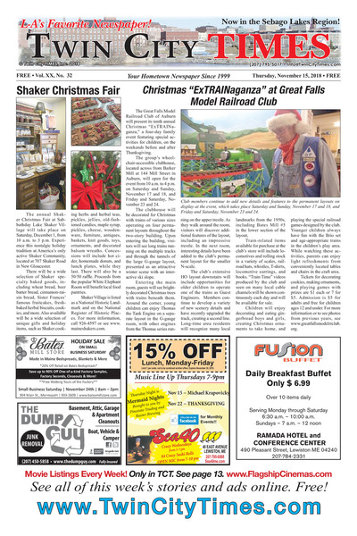 Twin City Times - Nov 15, 2018