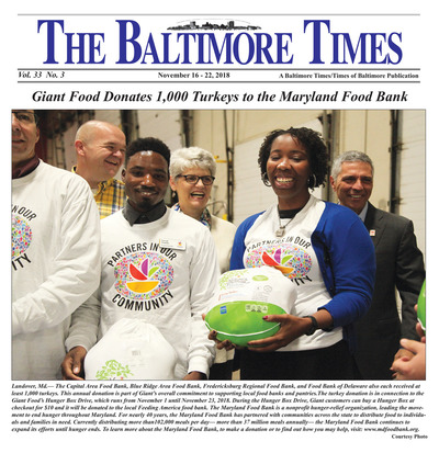 Baltimore Times - Nov 16, 2018