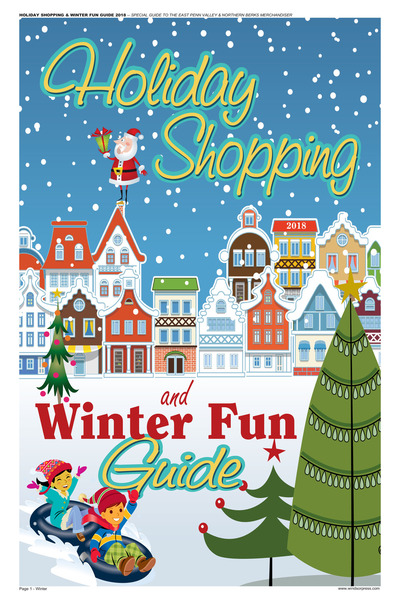 Northern Berks Merchandiser - Holiday Shopping & Winter Fun Guide - 2018 - Nov 11, 2018