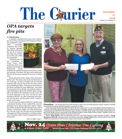 Delmarva Courier - Nov 21, 2018