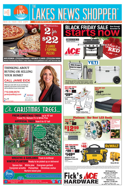 Lakes News Shopper - Nov 20, 2018