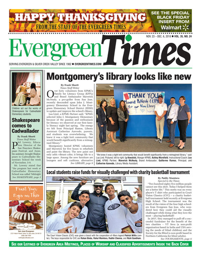 Evergreen Times - Nov 23, 2018