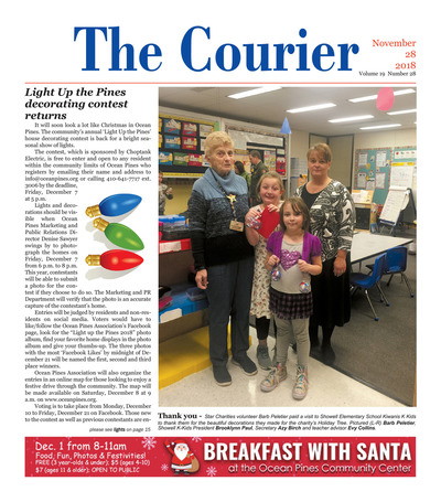 Delmarva Courier - Nov 28, 2018