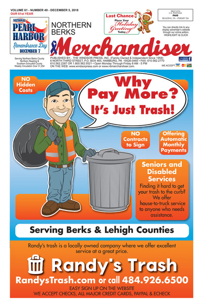 Northern Berks Merchandiser - Dec 5, 2018
