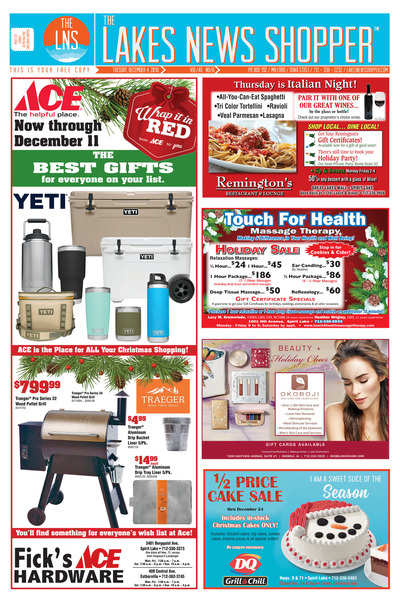 Lakes News Shopper - Dec 4, 2018