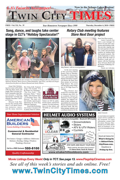 Twin City Times - Dec 6, 2018