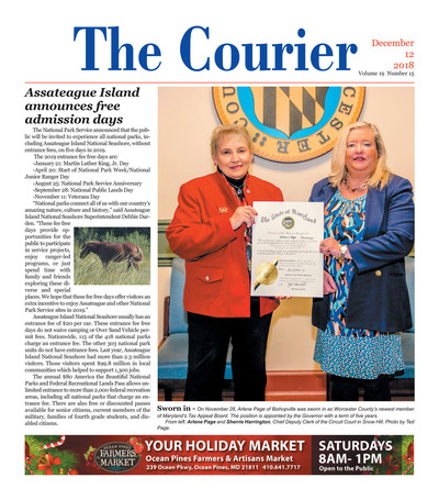 Delmarva Courier - Dec 12, 2018
