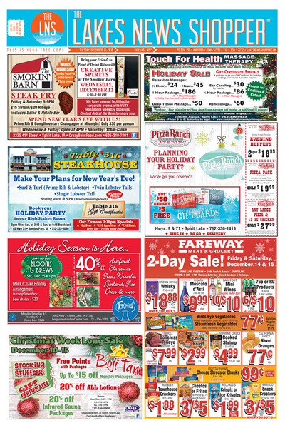 Lakes News Shopper - Dec 11, 2018