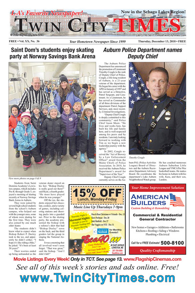 Twin City Times - Dec 13, 2018