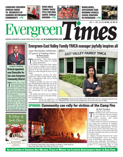 Evergreen Times - Dec 7, 2018