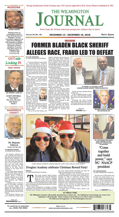 Wilmington Journal - Dec 13, 2018