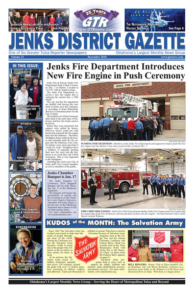 Jenks District Gazette - December 2018