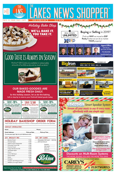 Lakes News Shopper - Dec 18, 2018