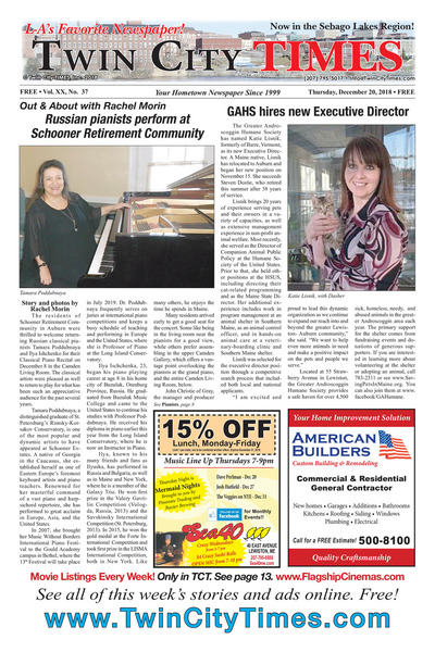 Twin City Times - Dec 20, 2018