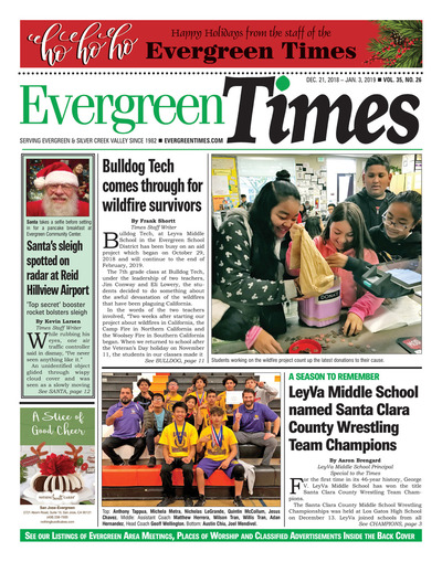 Evergreen Times - Dec 21, 2018