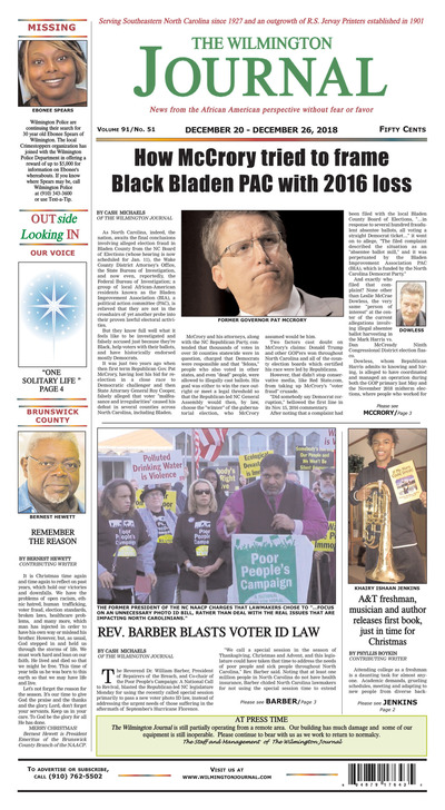 Wilmington Journal - Dec 20, 2018