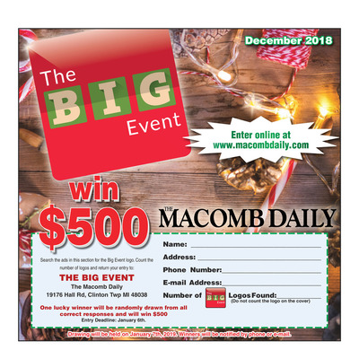 Macomb Daily - Special Sections - The Big Event