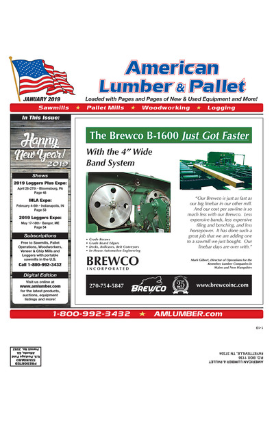 American Lumber & Pallet - January 2019