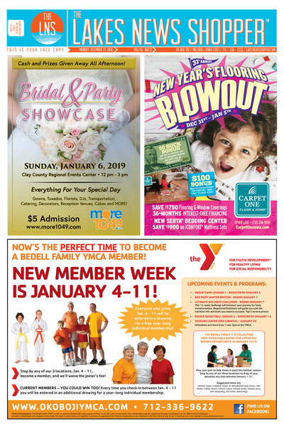 Lakes News Shopper - Jan 1, 2019