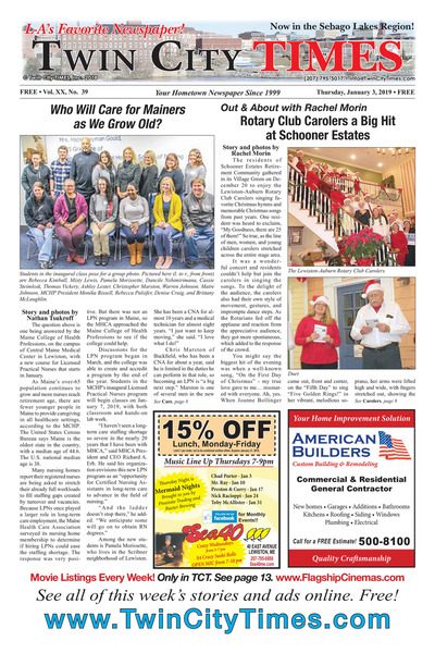 Twin City Times - Jan 3, 2019