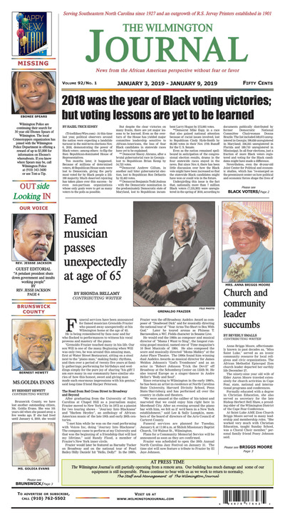 Wilmington Journal - Jan 3, 2019