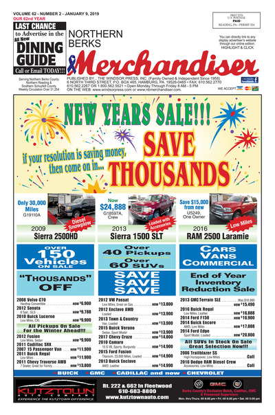 Northern Berks Merchandiser - Jan 9, 2019
