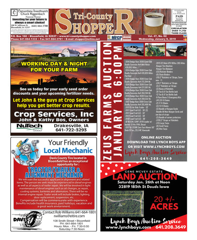Tri-County Shopper - Jan 9, 2019