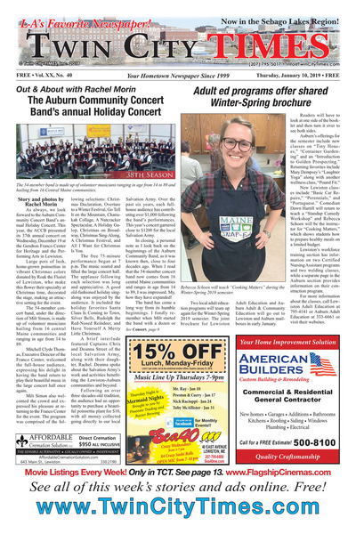 Twin City Times - Jan 10, 2019
