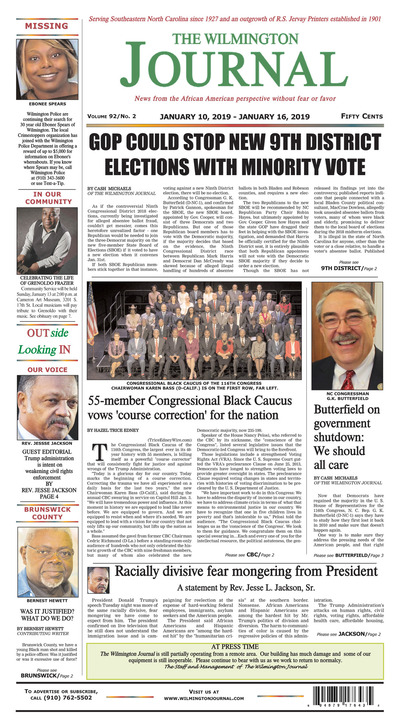 Wilmington Journal - Jan 10, 2019