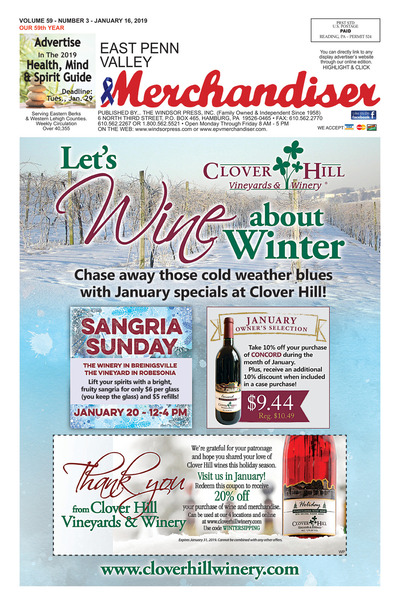 East Penn Valley Merchandiser - Jan 16, 2019